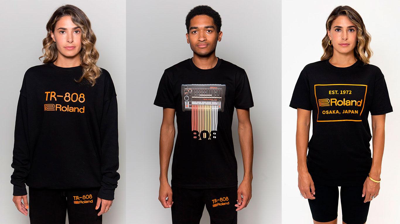 Коллекция одежды Roland 808 Classic