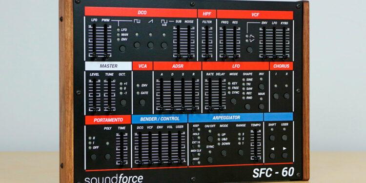 Контроллер Soundforce SFC-60 V3