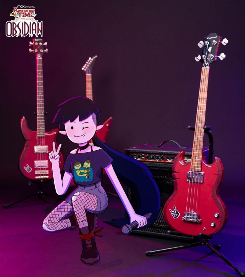 гитары Марселин королевы вампиров
