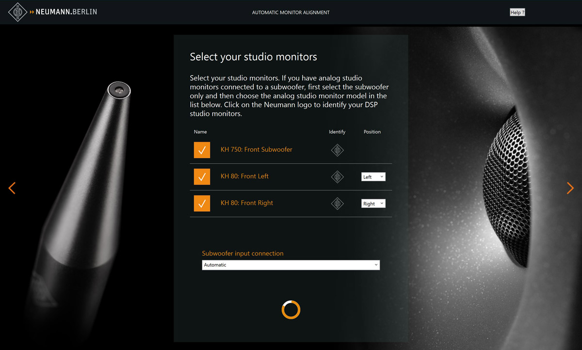 Neumann MA 1 скриншот программы