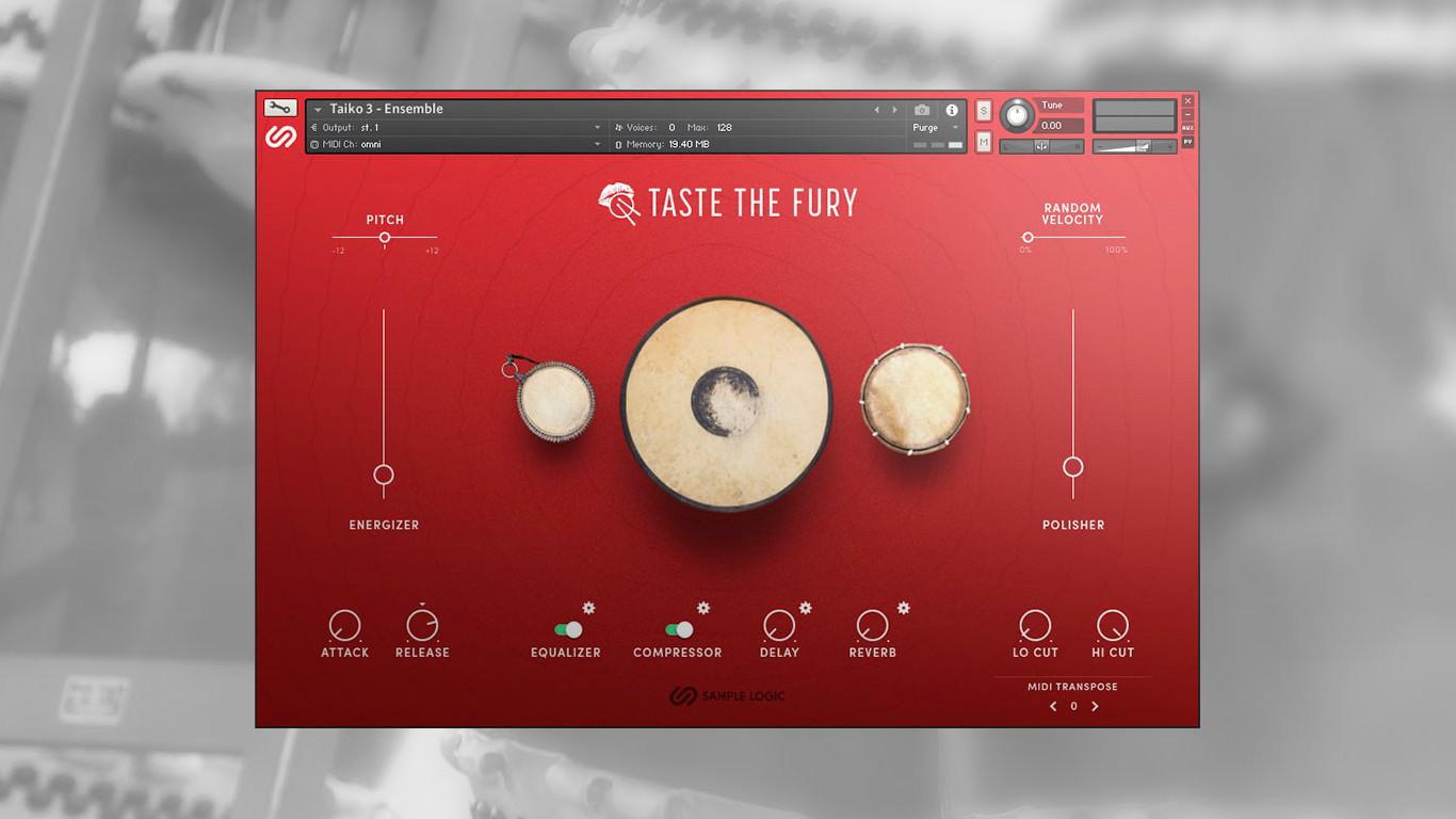 Sample Logic Taste The Fury Free