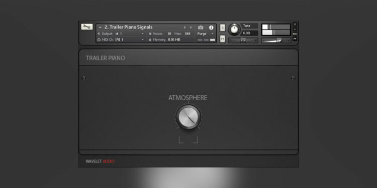 Wavelet Audio Trailer Ambient Tools бесплатная кинематографическая библиотека пианино