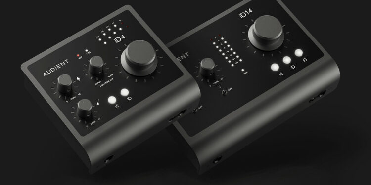 Audient iD4 MKII iD14 MKII