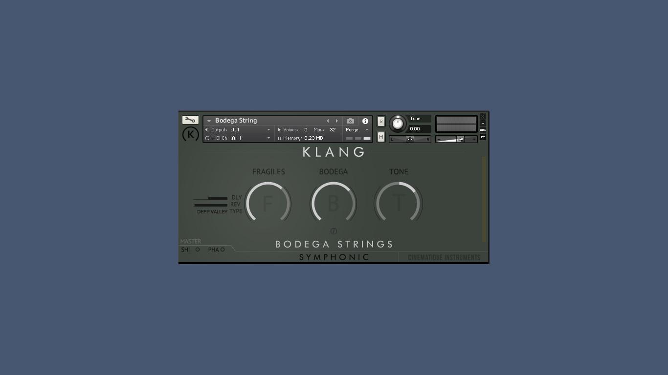 Klang Bodega Strings
