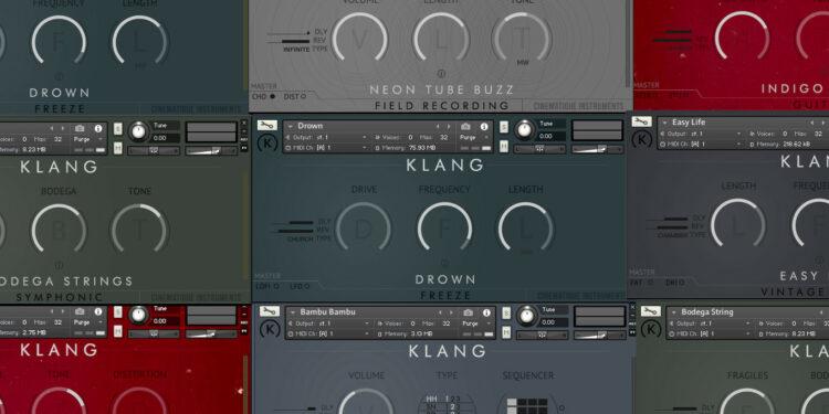 Klang Free Instruments коллекция бесплатных библиотек для Kontakt с необычным звуком
