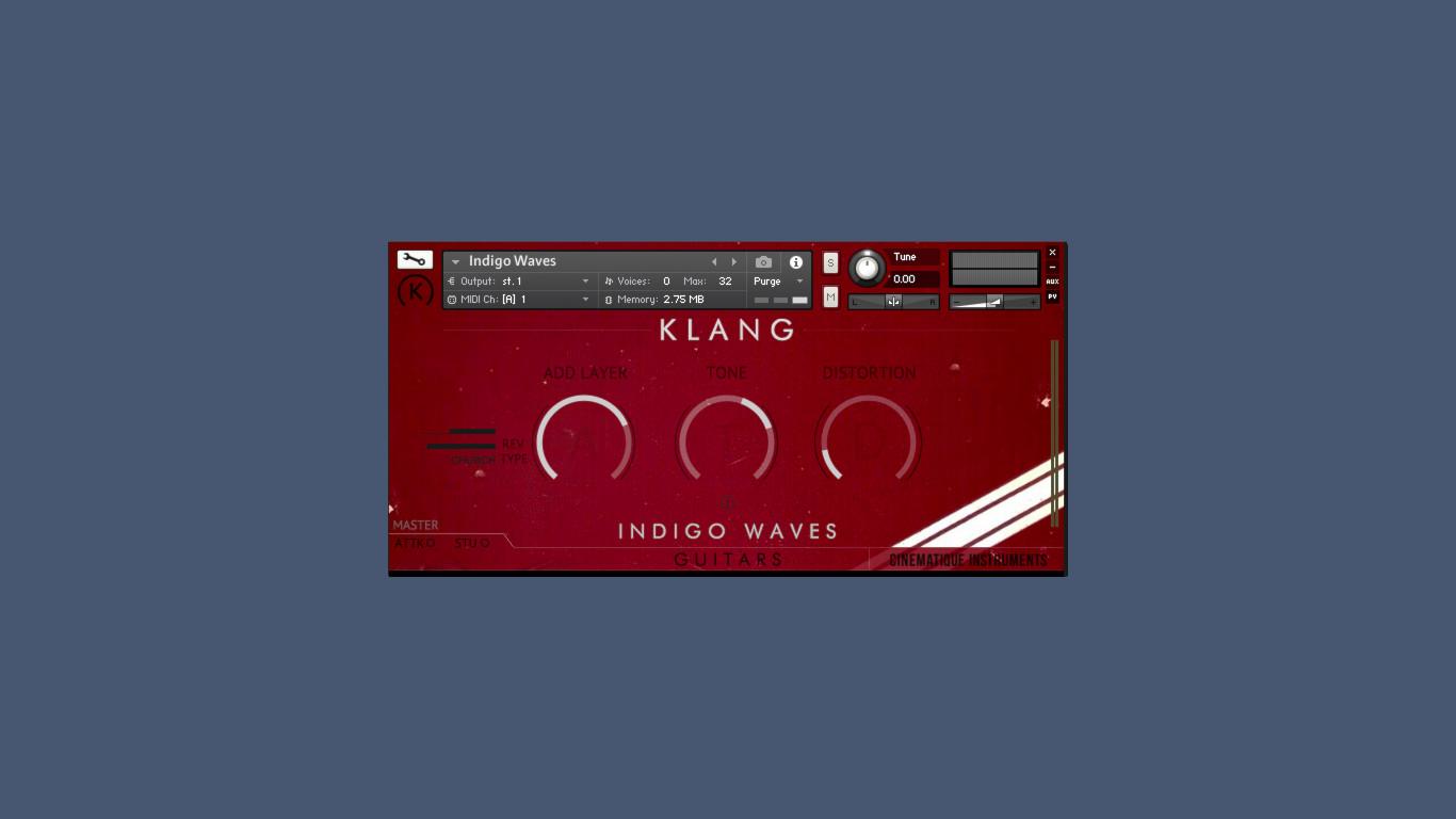 Klang Indigo Waves