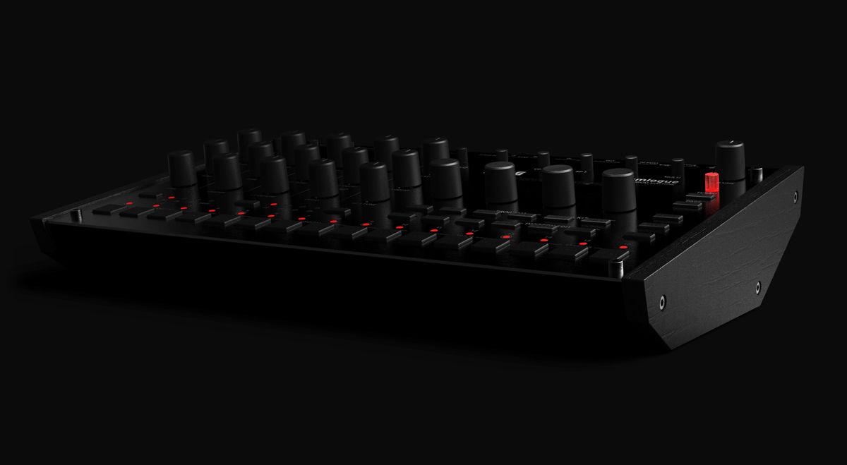 Драм-машина Korg Drumlogue прототип