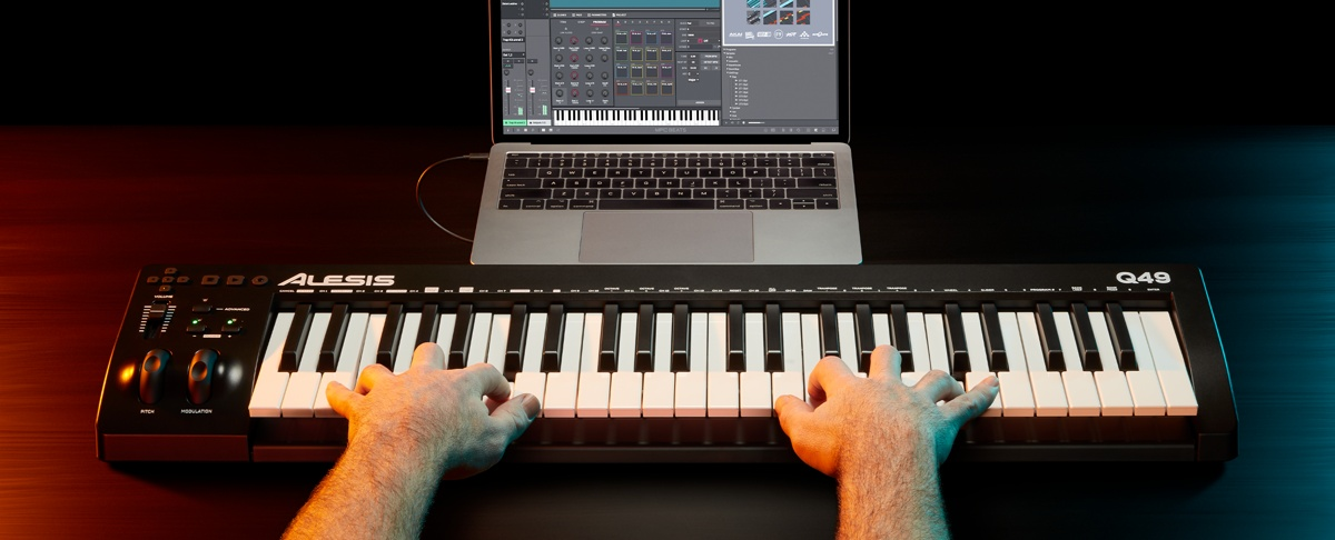MIDI-клавиатура Alesis Q49 MKII