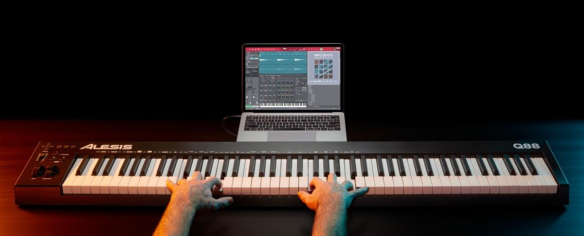 MIDI-клавиатура Alesis Q88 MKII