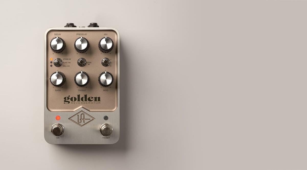 Universal Audio UAFX Golden Reverberator