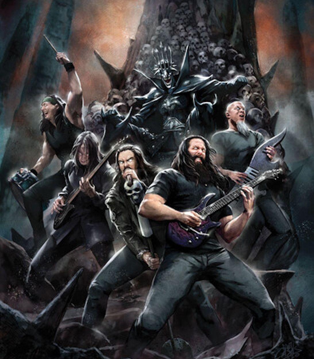 Dark Night Death Metal Band Edition Dream Theater