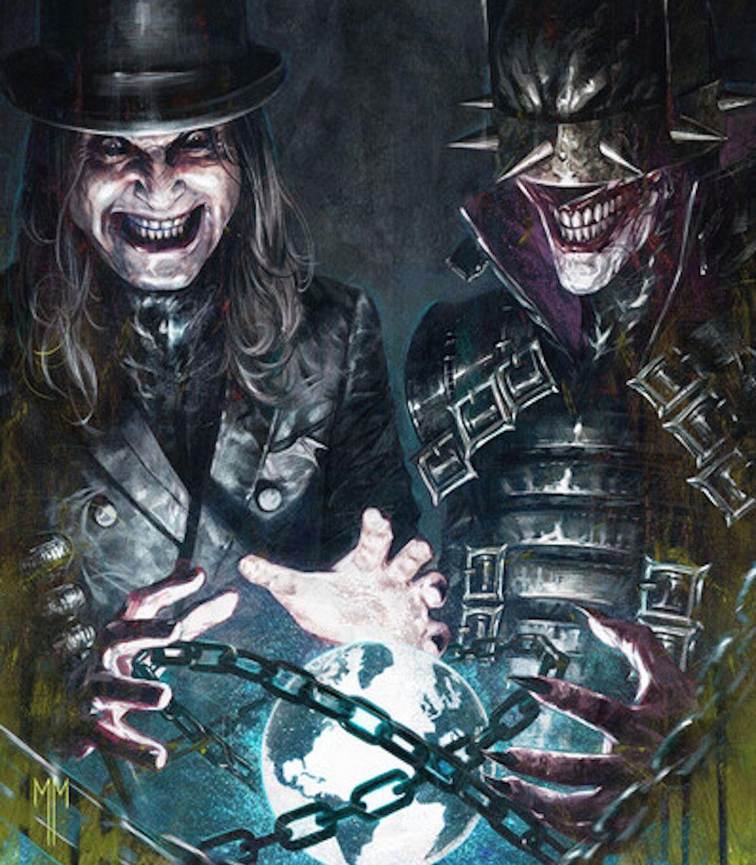 Dark Night Death Metal Band Edition Ozzy