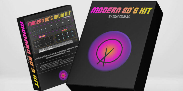 Dom Sigalas Modern 80s Kit
