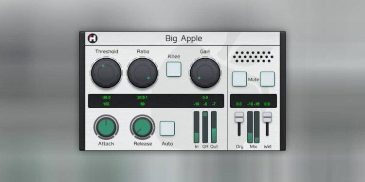 Бесплатный VST-компрессор HASound Big Apple