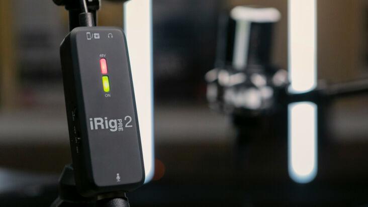 IK Multimedia iRig Pre 2
