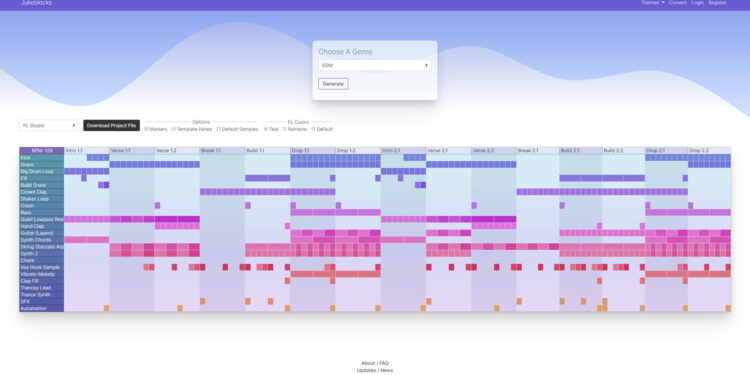 Jukeblocks конвертер проектов Ableton Live в FL Studio