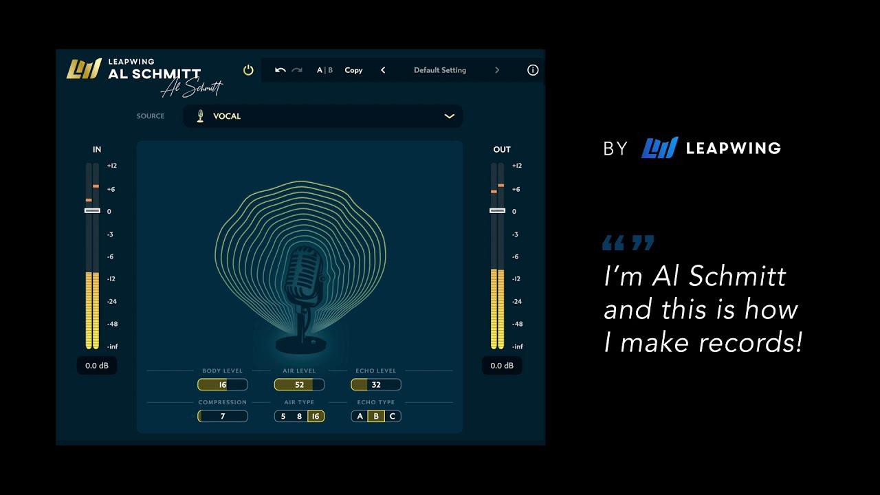 Leapwing Audio Al Schmitt Signature Plugin