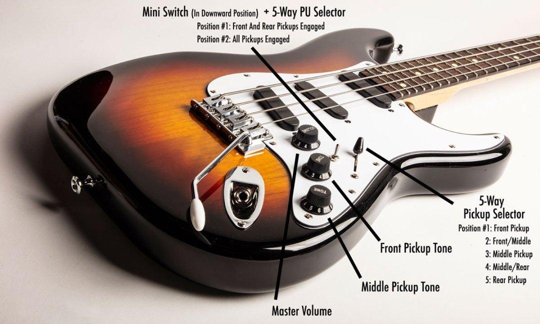 Oneonta Guitar Stanley Clarke Spellcaster