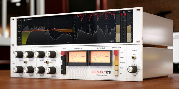 VST-компрессор Pulsar Audio 1178