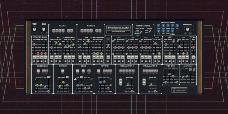 Синтезатор Cherry Audio Polymode