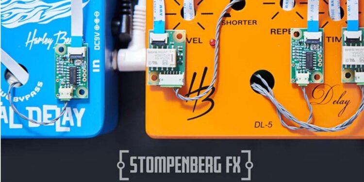 Thomann Stompenberg FX сервис интерактивного онлайн-тестирования гитарных педалей