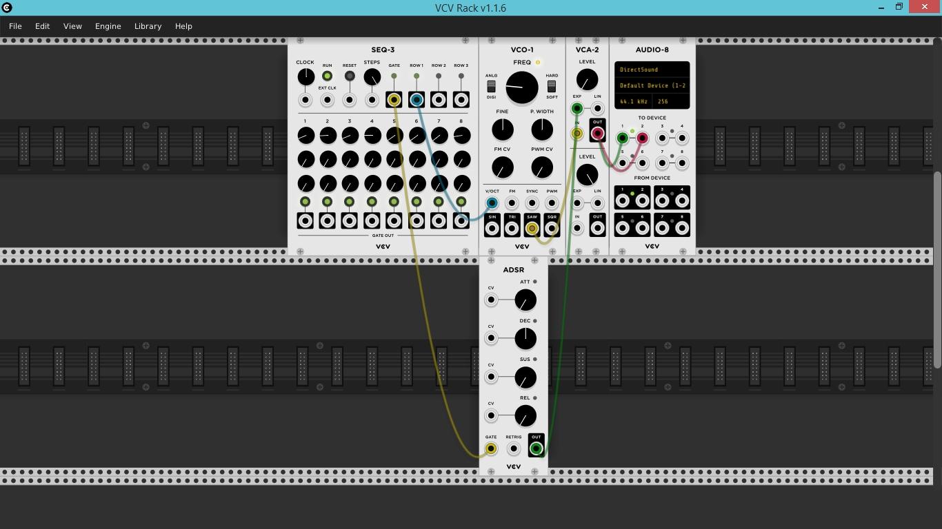 VCV Rack ADSR Mod