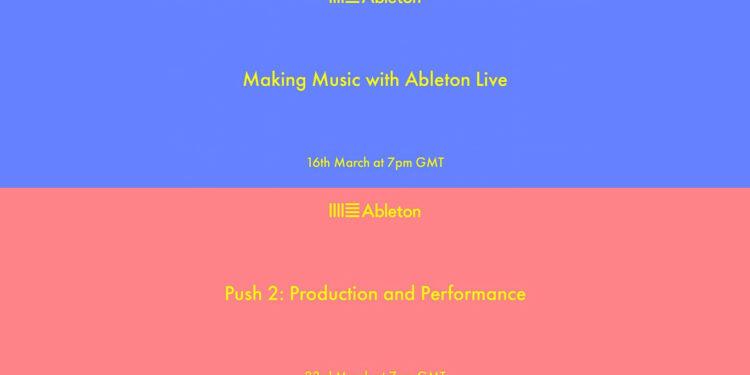 Ableton проведет бесплатные вебинары для начинающих музыкантов