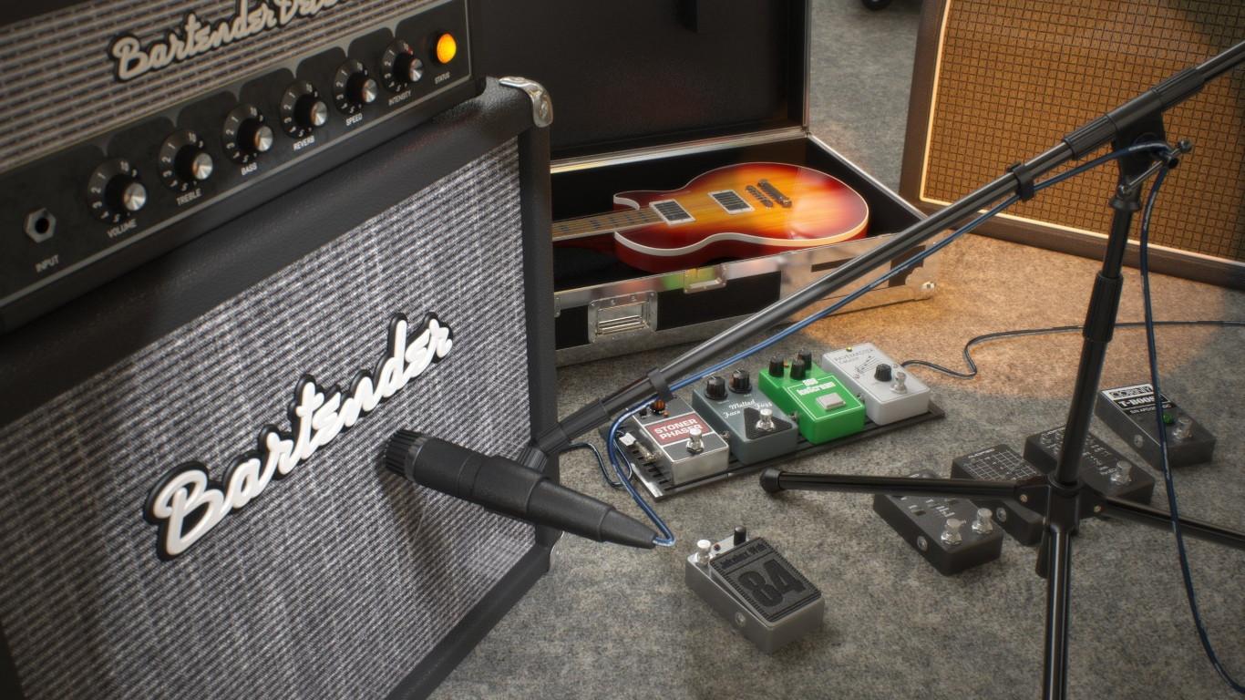 Audified AmpLion 2 Rock Essentials GUI