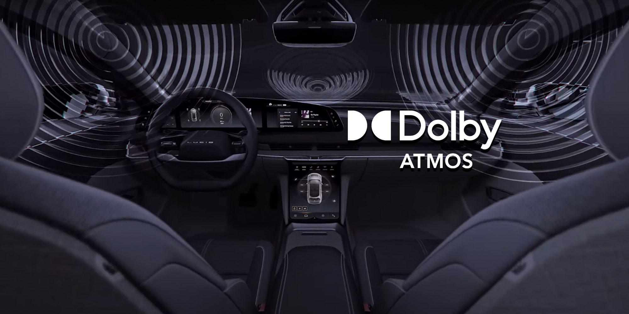 Lucid Air первый электромобиль с системой Dolby Atmos