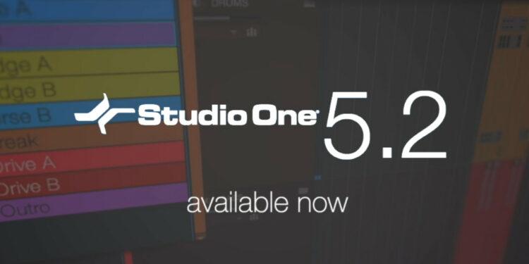 PreSonus Studio One 5.2 что нового