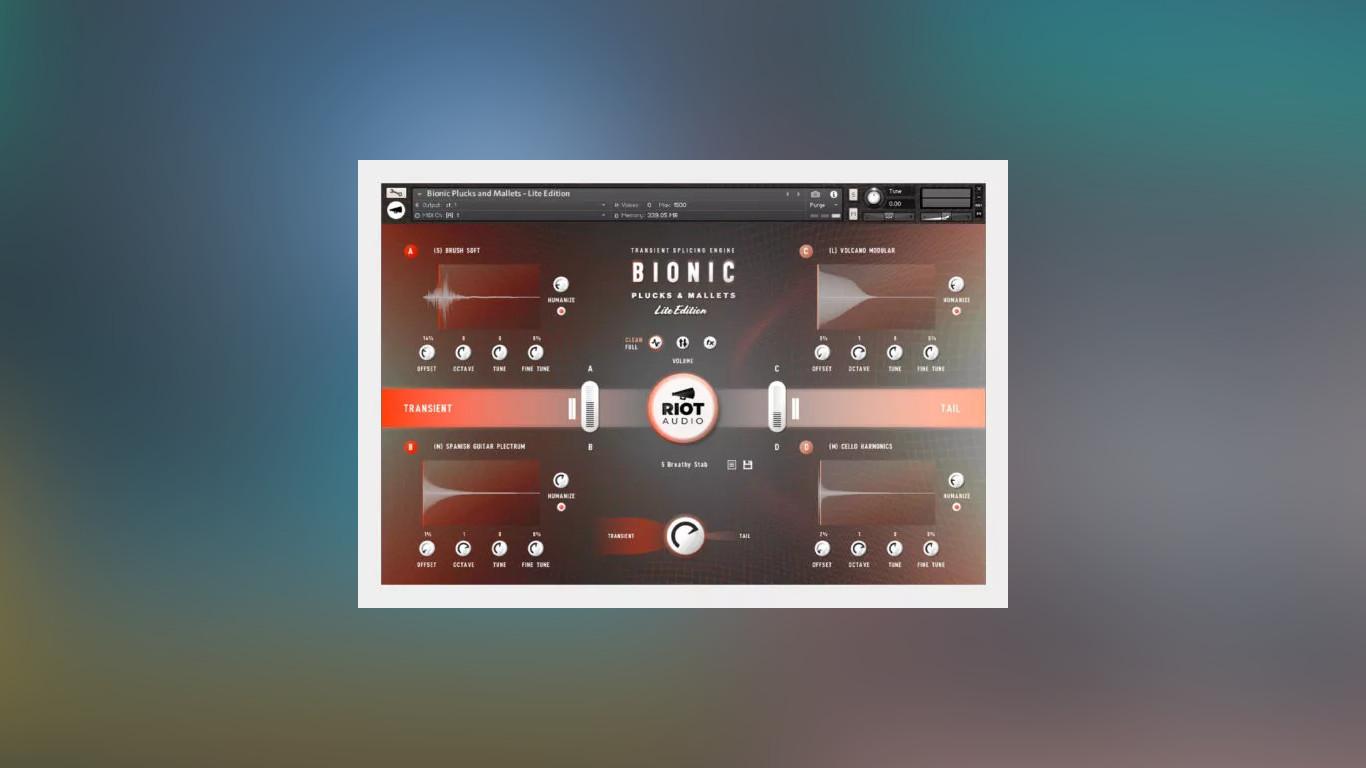 Riot Audio Bionic Plucks & Mallets - Lite Edition