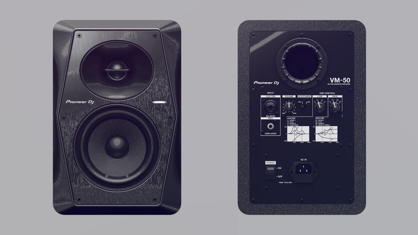 Студийные мониторы Pioneer DJ VM-50
