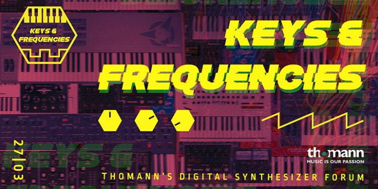 Онлайн-фестиваль Thomann Keys & Frequencies