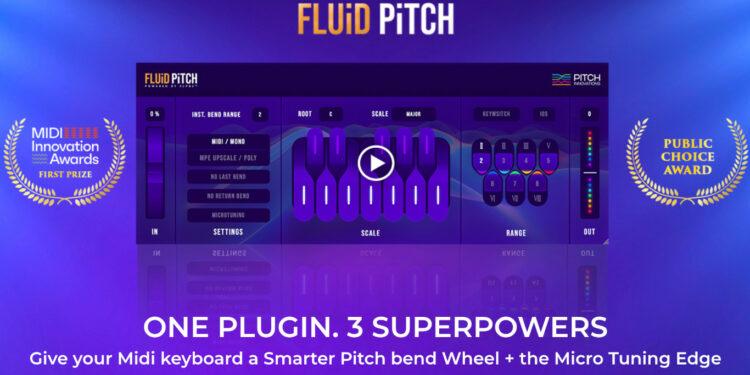 VST редактор питча Fluid Pitch