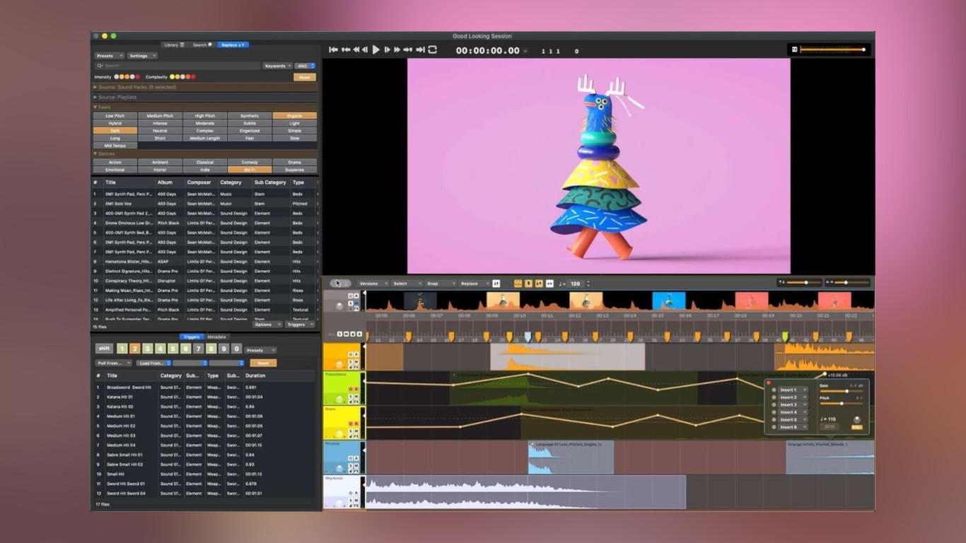 Вышла Audio Design Desk1.6— бесплатная DAW для подготовки звука кфильмам, сериалам ипрочему видеоконтенту