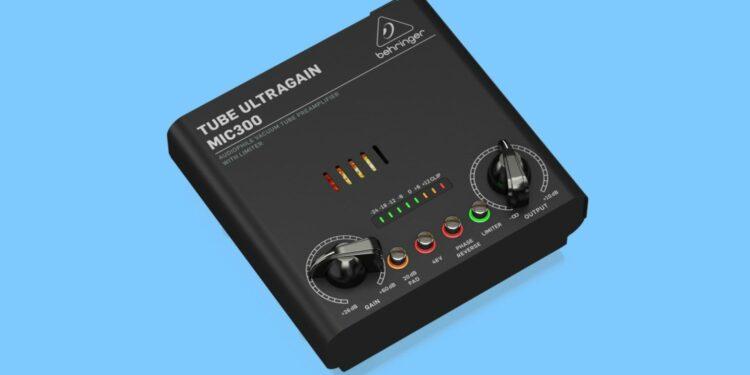 Behringer MIC300 микрофонный предусилитель