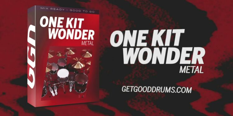 GetGood Drums One Kit Wonder Metal