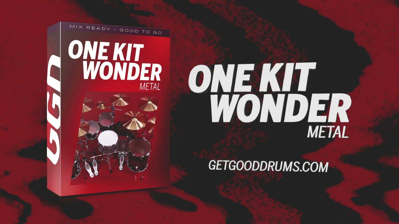 One Kit Wonder: Metal — новая библиотека ударных для метала от GetGood Drums