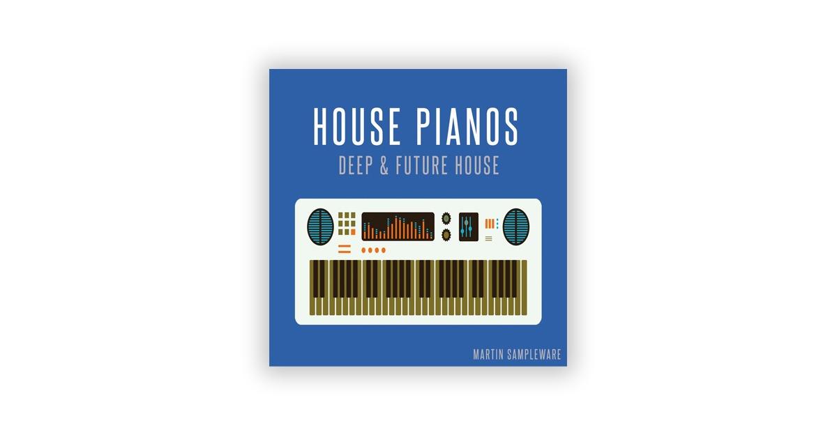 Лучшие сэмплы в стиле хаус Martin Sampleware House Pianos Deep House & Future