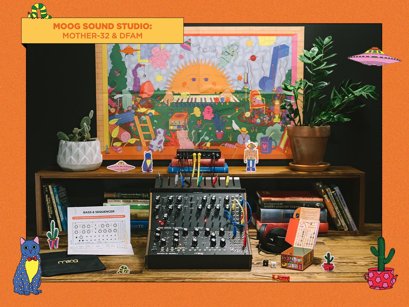 Moog Sound Studio Mother-32 DFAM