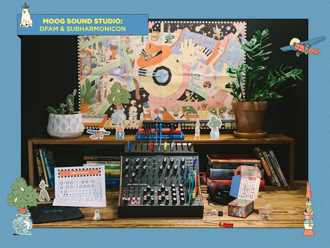 Moog Sound Studio Subharmonicon DFAM