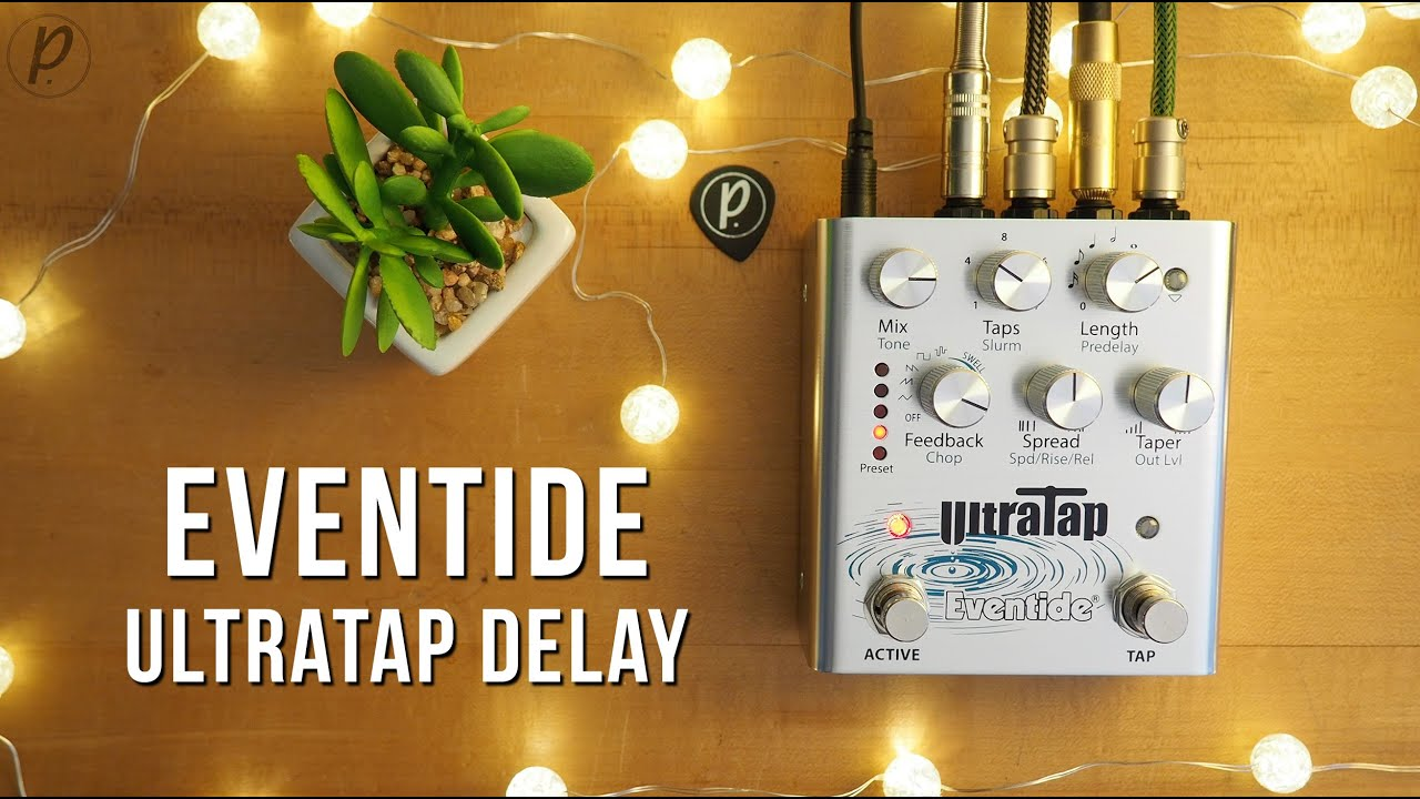 Eventide начала продажи педали дилэя UltraTap Delay— компания называет устройство «мультивселенной тона»