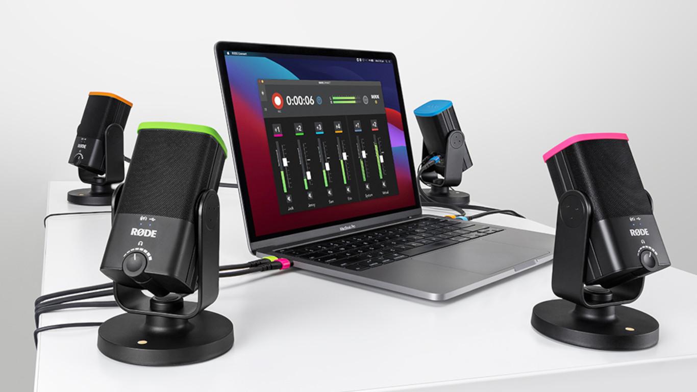 Rode Connect— бесплатная программа для записи подкастов через микрофоны компании