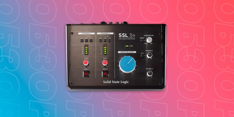 SSL 2+ обзор аудиоинтерфейса звуковой карты