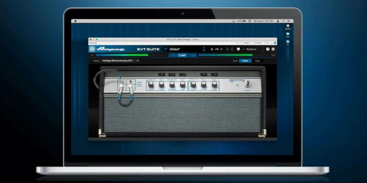 Ampeg SVT Suite первый эмулятор басовых кабинетов от Ampeg