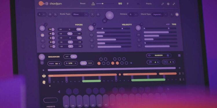 Audiomodern Chordjam VST-плагин генерации аккордов и прогрессий