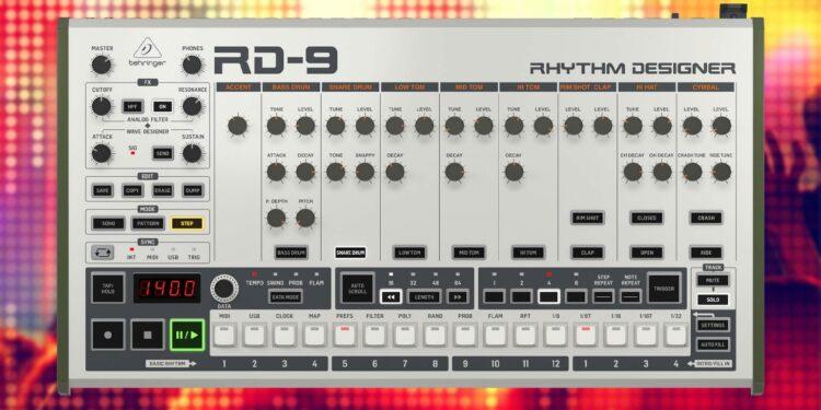 Behringer RD-9 стала известна цена