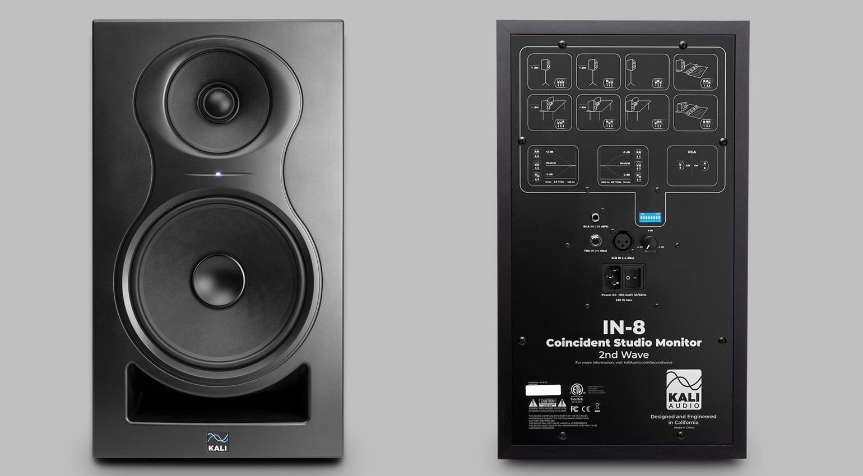 Kali Audio IN-8 2nd Wave Studio Monitor