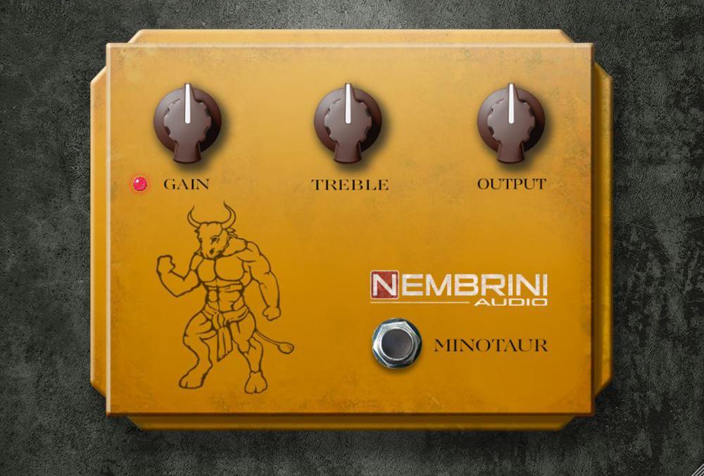 Бесплатный VST-овердрайв Nembrini Audio Clon Minotaur Transparent Overdrive