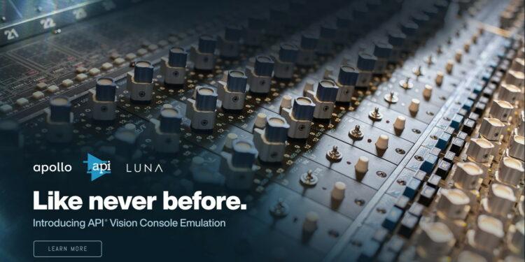 Платформа Universal Audio LUNA получила полную эмуляцию консолей API